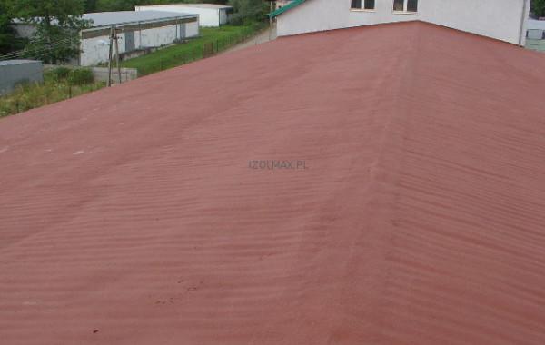 ocieplenie dachu hali