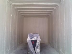 ocieplenie kontenera