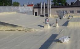 renowacja dachu z papy