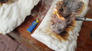 Czy pianka poliuretanowa jest palna?